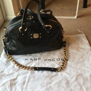 Marc Jacobs green doctor bag with authenticity